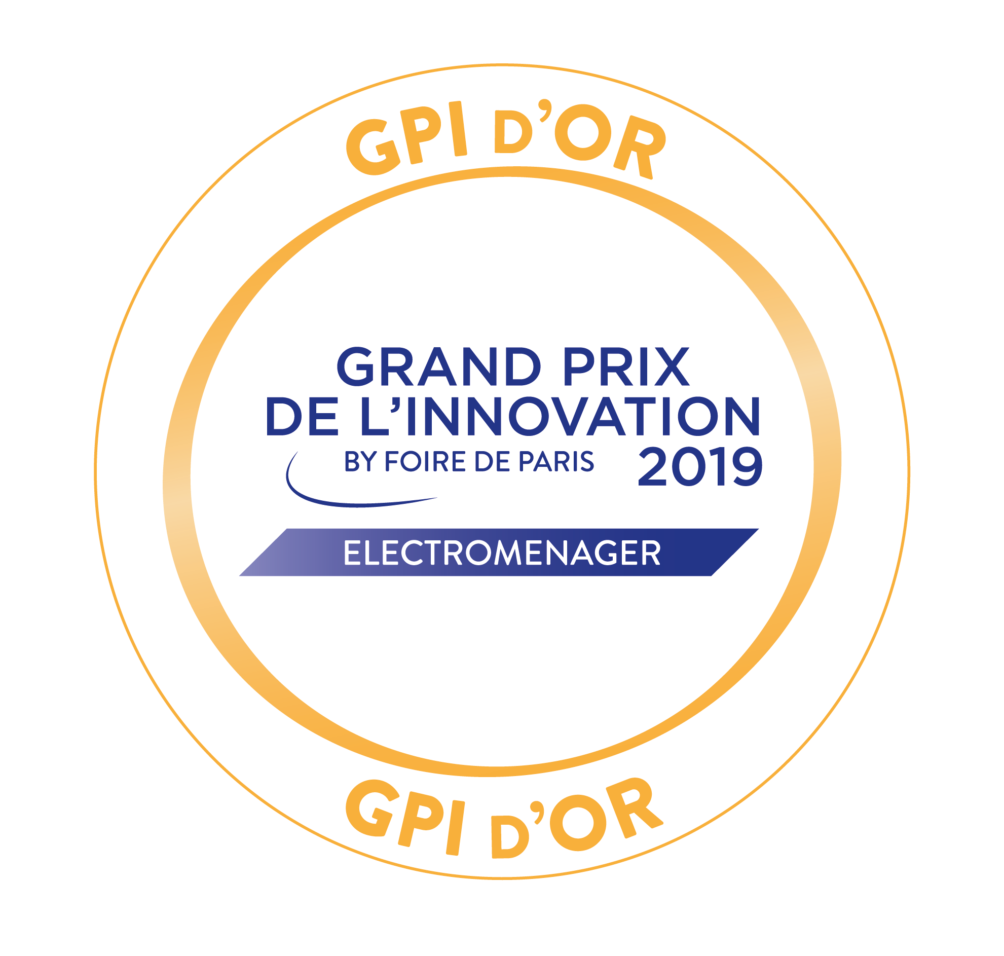 Grand prix d'innovation Or Miele