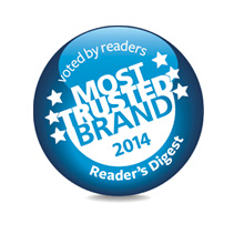 Most Trusted Brand 2014