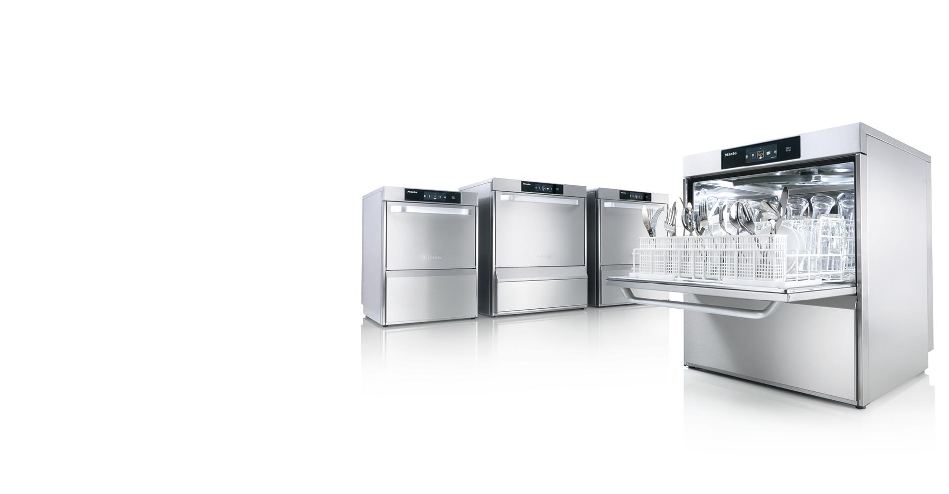 Quel Est Le Temps De Lavage D Un Lave Vaisselle lave-vaisselle professionnels miele | découvrez-les maintenant