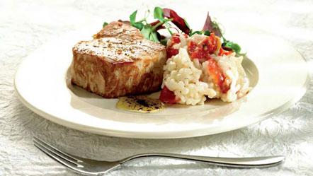 Thon Avec Salade Et Risotto Recettes Miele