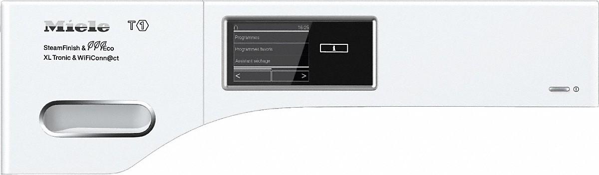 miele tmv843 wp sfinish eco xl tronic wifi s che linge pompe chaleur t1. Black Bedroom Furniture Sets. Home Design Ideas