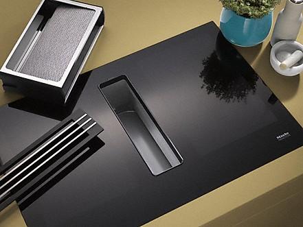 cleancover de miele tables induction avec hotte int gr e. Black Bedroom Furniture Sets. Home Design Ideas