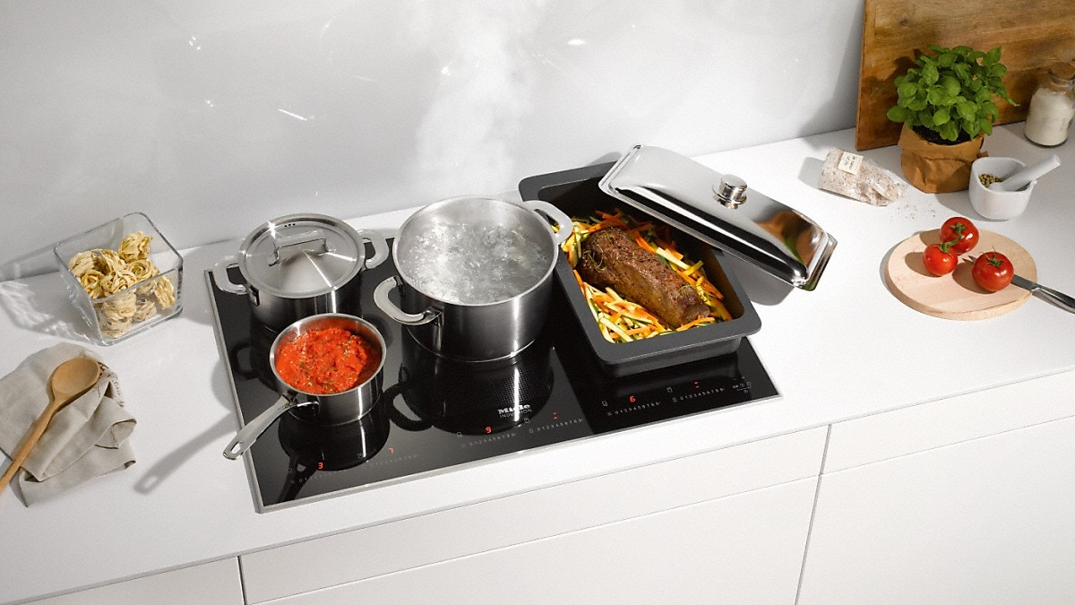 miele km 6366 1 table de cuisson induction. Black Bedroom Furniture Sets. Home Design Ideas