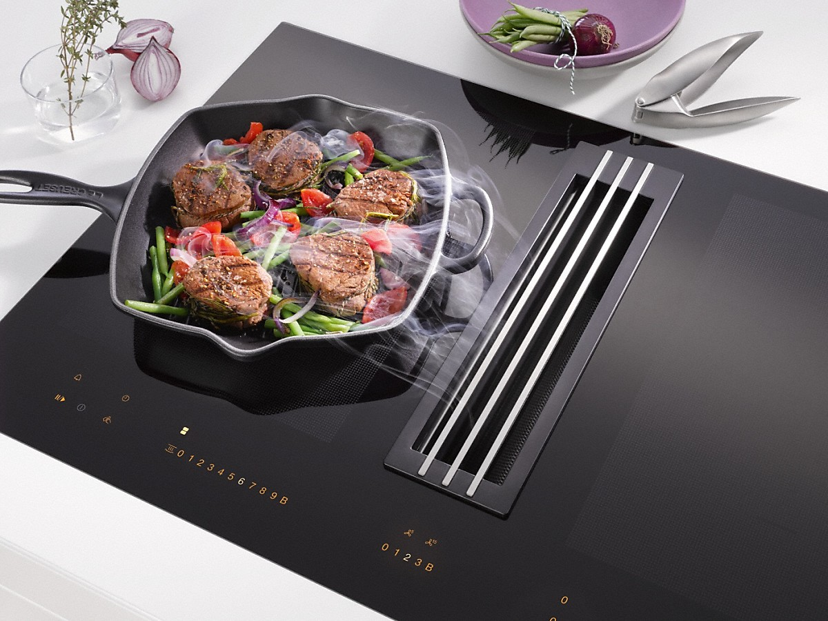 miele kmda 7774 fl plaque de cuisson induction avec. Black Bedroom Furniture Sets. Home Design Ideas