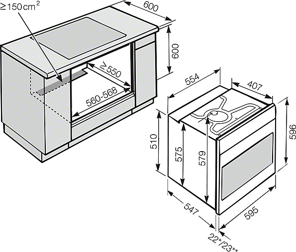 miele h 2661 1 bp four multifonctions. Black Bedroom Furniture Sets. Home Design Ideas