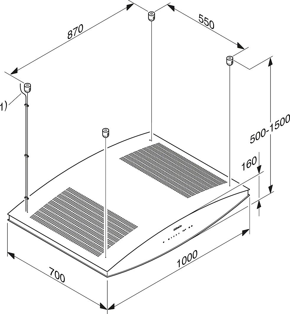 miele hottes da 7006 d aura hotte pour lot. Black Bedroom Furniture Sets. Home Design Ideas