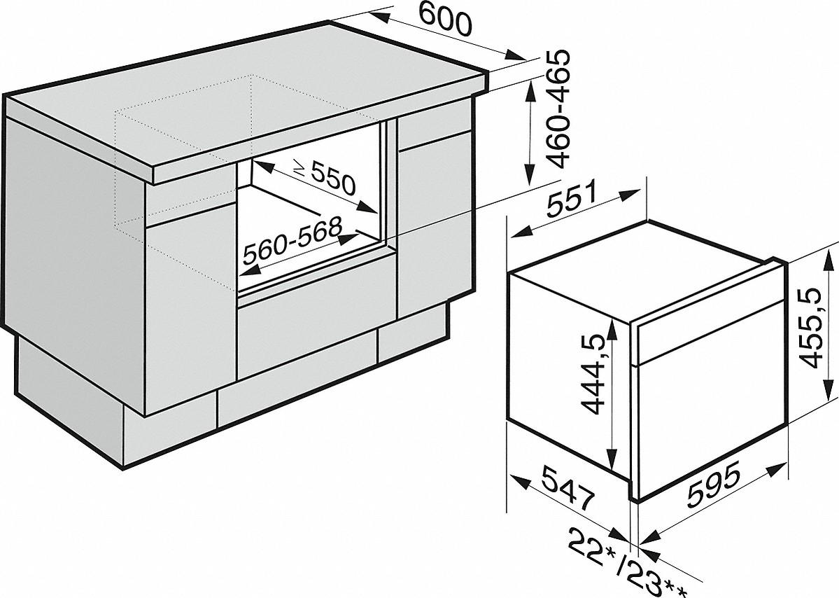 miele four vapeur dgm 6805 four vapeur micro ondes. Black Bedroom Furniture Sets. Home Design Ideas