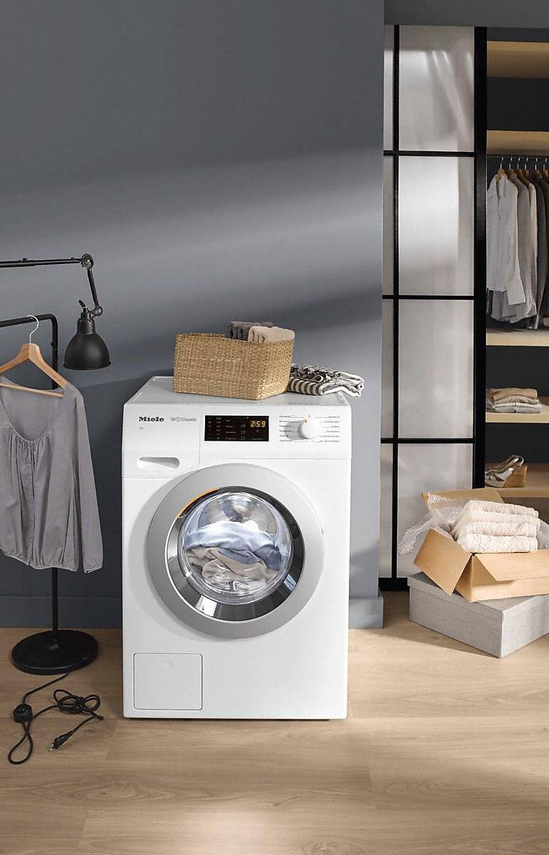 miele wdb030 eco lave linge chargement frontal w1 classic. Black Bedroom Furniture Sets. Home Design Ideas