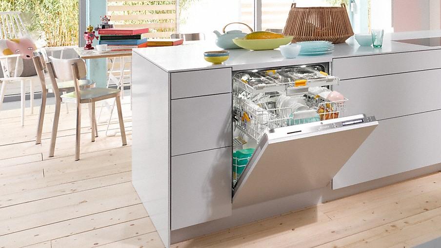 Miele lave vaisselle int grables pour la cuisine miele - Dimension lave linge encastrable ...