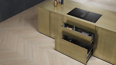 miele miele tables induction avec hotte int gr e. Black Bedroom Furniture Sets. Home Design Ideas