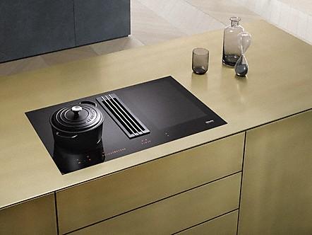 code promo 62069 b4719 Miele Miele | Tables à induction avec hotte intégrée