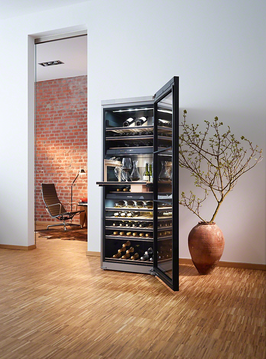 miele kwt 6832 sgs armoire vin de mise en t posable. Black Bedroom Furniture Sets. Home Design Ideas