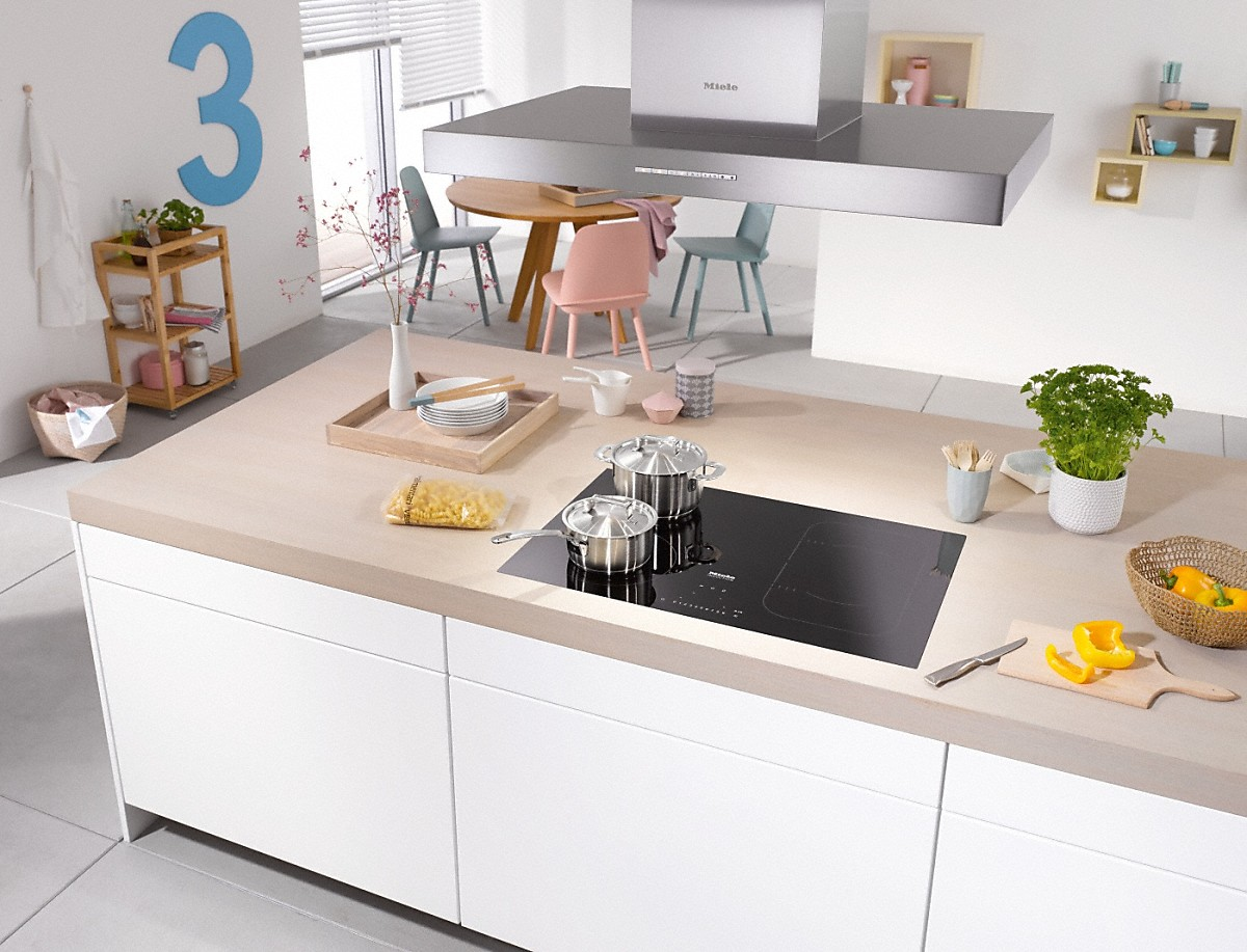 miele km 6348 table de cuisson induction. Black Bedroom Furniture Sets. Home Design Ideas