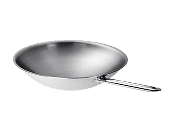 CSWP 1450 - Wok pour Dominos adapté de manière optimale à la courbure du wok induction Miele.--NO_COLOR