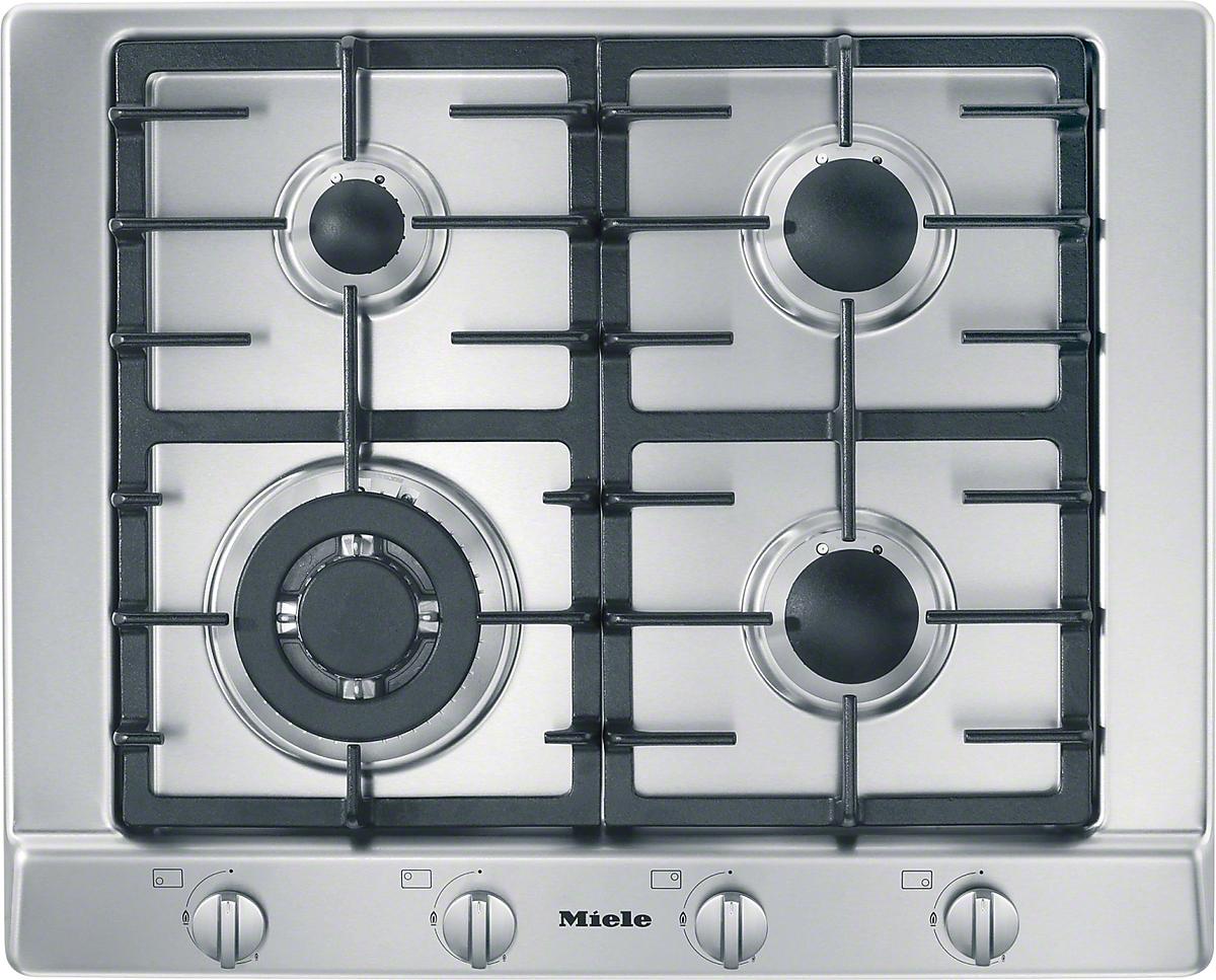 Miele km 2012 table de cuisson au gaz - Table de cuisson au gaz ...