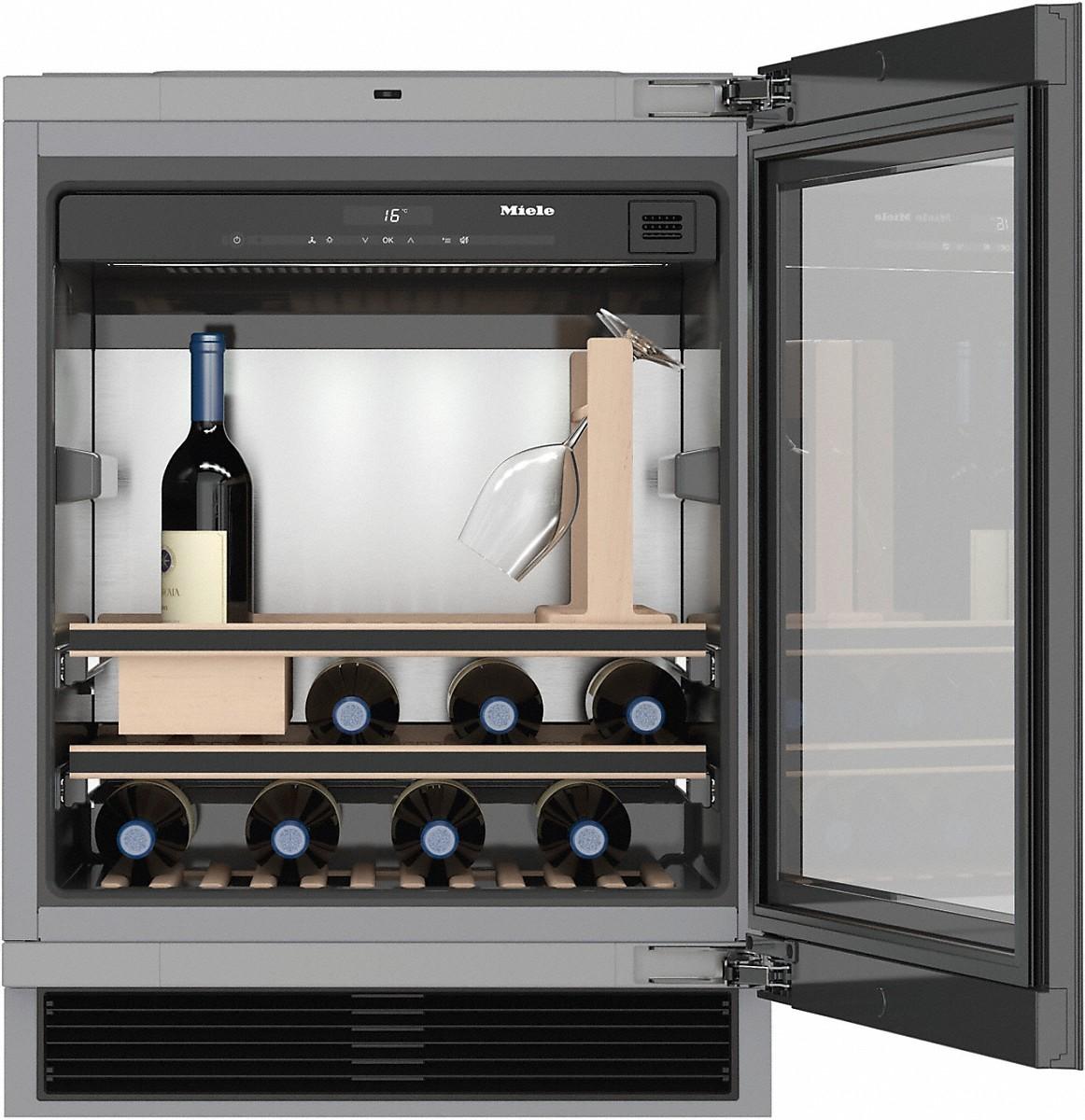miele kwt 6312 ugs cave vin sous plan. Black Bedroom Furniture Sets. Home Design Ideas