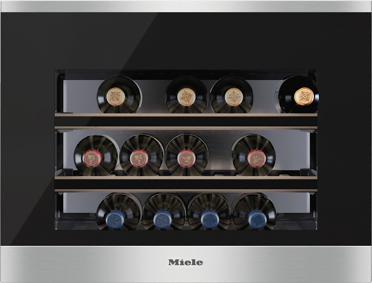 miele kwt 6112 ig cave de mise en temp rature du vin int gr e. Black Bedroom Furniture Sets. Home Design Ideas