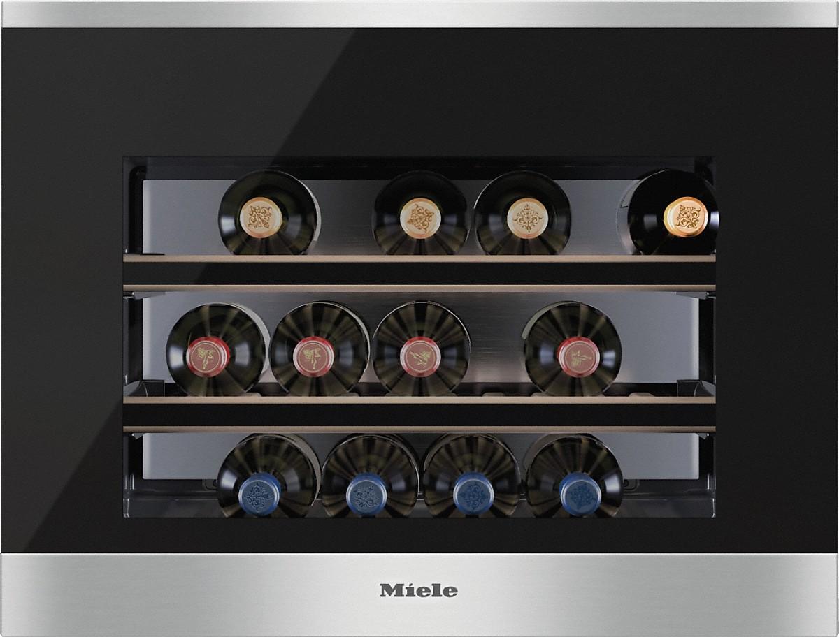 miele kwt 6112 ig cave de mise en temp rature du vin int gr e. Black Bedroom Furniture Sets. Home Design Ideas