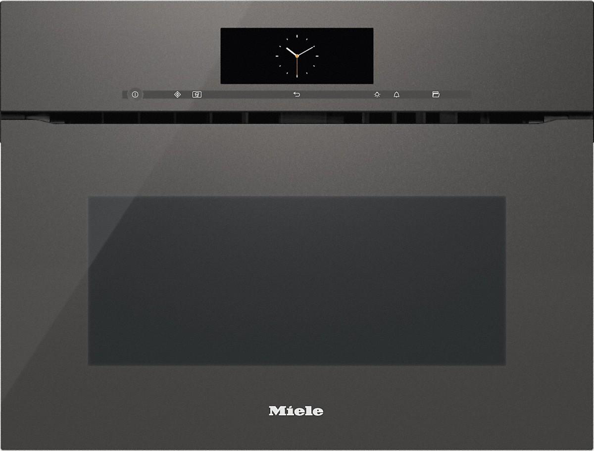 Miele h 6800 bmx four combin micro ondes sans poign e - Four micro onde vapeur miele ...
