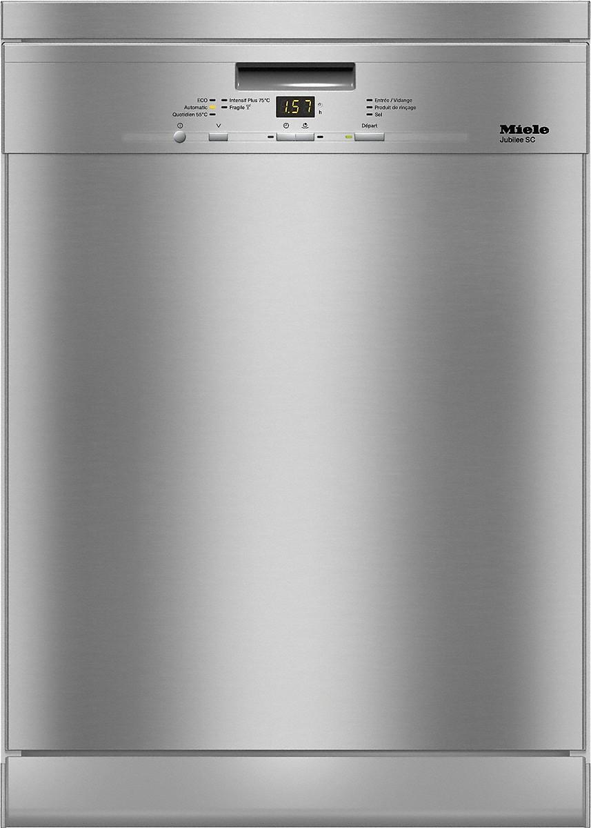 Miele g 4942 sc jubilee lave vaisselle posable - Lave vaisselle avec tiroir a couvert ...
