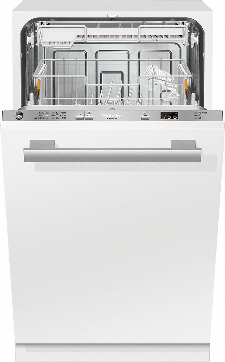 Miele g 4680 scvi active lave vaisselle totalement int grable - Lave vaisselle avec tiroir couverts ...
