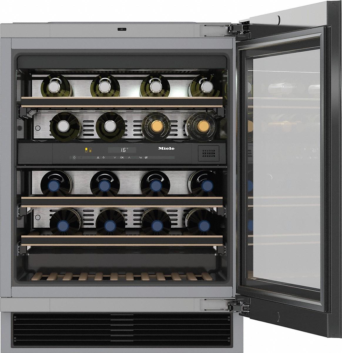 miele kwt 6322 ug cave vin sous plan. Black Bedroom Furniture Sets. Home Design Ideas