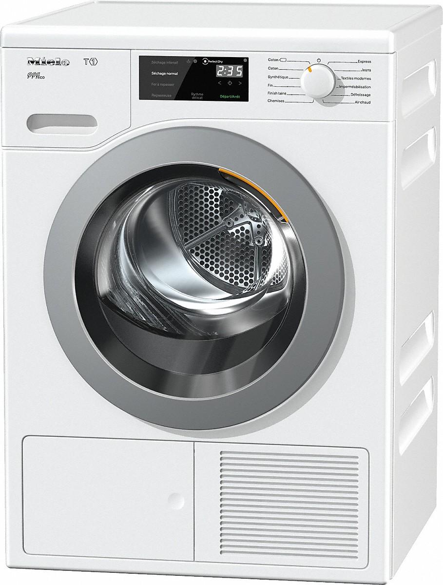 miele tcf620wp eco s che linge pompe chaleur t1. Black Bedroom Furniture Sets. Home Design Ideas