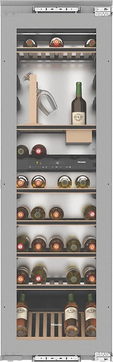 miele kwt 6722 is cave vin encastrable. Black Bedroom Furniture Sets. Home Design Ideas
